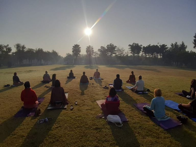 Early Bird Yoga Vrindavan